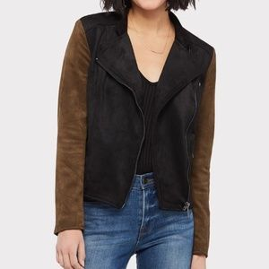 Kut From The Kloth Faux Suede Moto Jacket